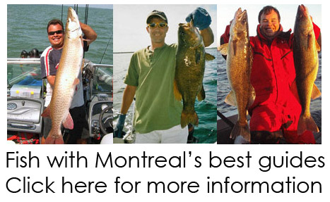 Montreal&#39;s best fishing guides