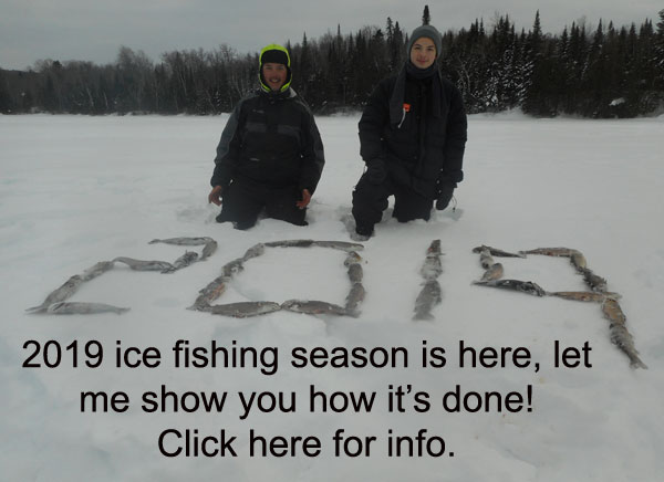 Montreal ice fishing guides